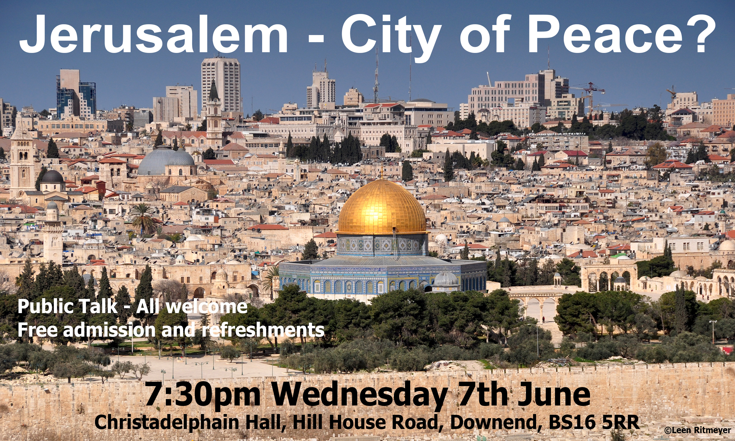 Jerusalem – City of Peace?